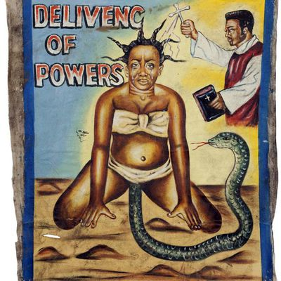 DELIVENC OF POWERS [AFFICHE GHANEENNE]