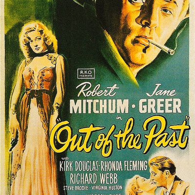 OUT OF THE PAST [AFFICHE ORIGINALE]