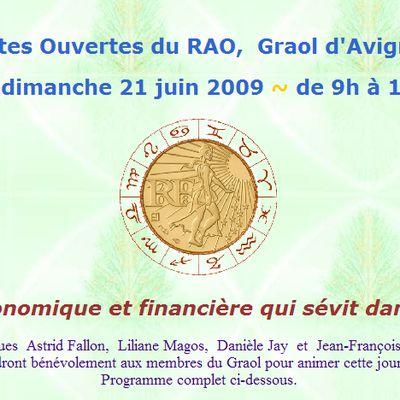 Journee GRAOL d'Avignon le 21 JUIN 2009