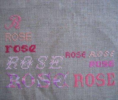Le rose avance ..