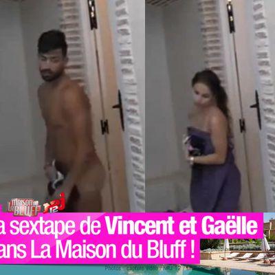 La sextape de Vincent et Gaëlle dans La Maison du Bluff ! #LMDB4