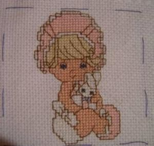 1 ere broderie  2006