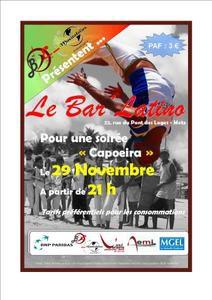 Soirée Capoeira