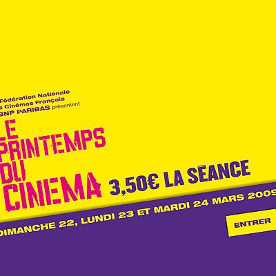 Printemps du cinema 2009
