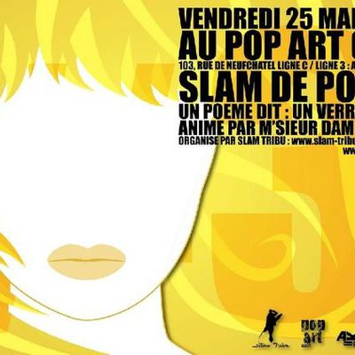 SCENE SLAM DU POP ART CAFE