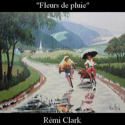 """Pluie de fleurs"" de Rémi Clark"