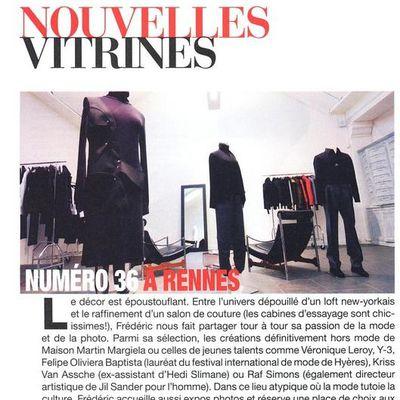 En kiosque : Marie Claire Edition Ouest