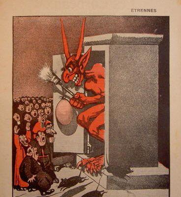 """SAGGIO. L'immagine, il ridere e il libero pensiero militante, L'esempio della rivista franco-belga """"Les Corbeaux"""" 1905-1909, 01."""