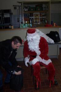 L'arriver du Père Noël