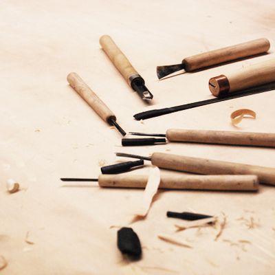 Gravure sur bois à la façon Chinoise