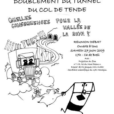 Tunnel de Tende : réunion d'information