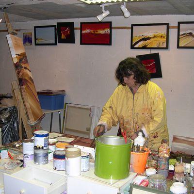 Initiation à la peinture à l'huile : les supports