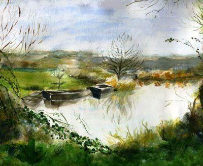 L'étang de Liza