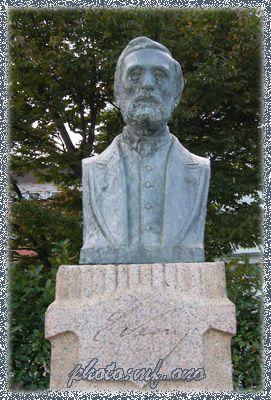 LE DEPART DE GABRIEL LEOSTIC POUR LE JAPON EN 1866