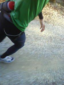 Überdistanzlauf . Nike Plus suckt.