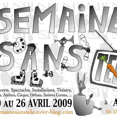 Semaine Sans Télé 2009