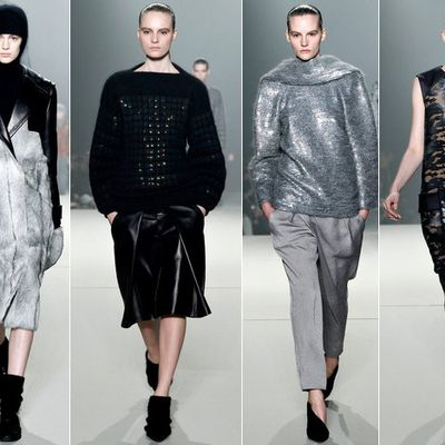NEW YORK FASHION / NYFW FALL WINTER 2013/14 READY TO WEAR SELECTION /