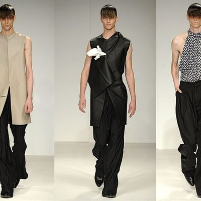 LONDON COLLECTIONS MEN / J W ANDERSON - SPRING SUMMER 2014 /