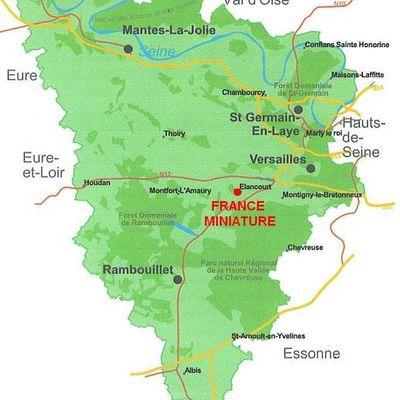France Miniature dans les Yvelines