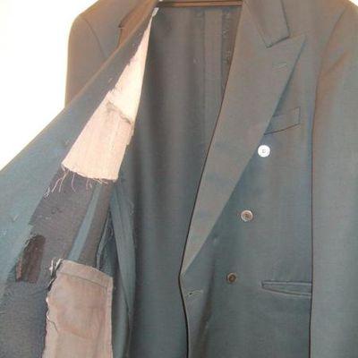 Refaire la doublure d'une veste
