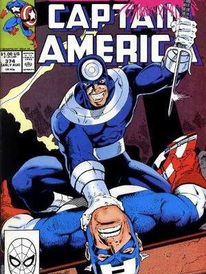 Captain america n°374 (Mark Gruenwald, Ron Lim, Mark Bagley)