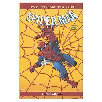 Spider Man, l'intégrale, 1968 (Stan Lee, John Romita Sr)