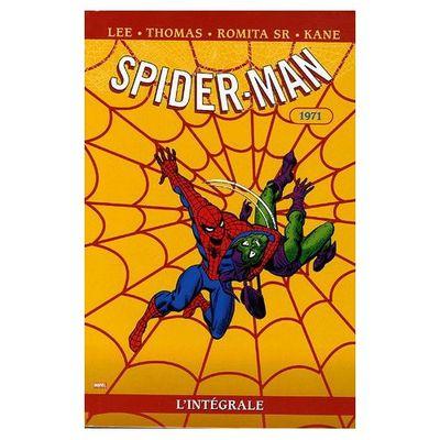Spider-Man, l'intégrale 1971 (Stan Lee, Roy Thomas, John Romita Sr, Gil Kane)