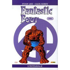 Fantastic four, l'intégrale 1966 (Stan Lee, Jack Kirby)