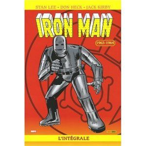 Iron-man, l'intégrale, 1963-1964 (Stan Lee, Jack Kirby, Don Heck)