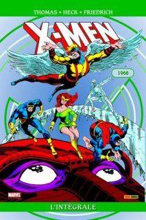 X-men, l'intégrale 1968 (Roy Thomas, Gary Friedrich, Arnold Drake, Stan Lee, Don Heck, George Tuska, Werner Roth)