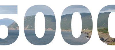 Nombre de visites.