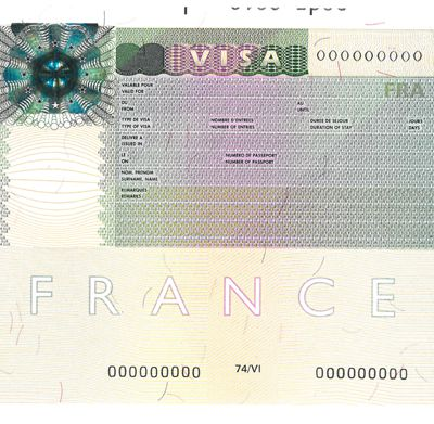 VISA FRANCE SAUF CTOM, EXPLICATION.