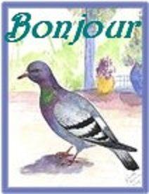 Deux pigeons s'aimaient d'amour tendre ...