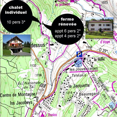 Plan Chalet 10 pers 3*