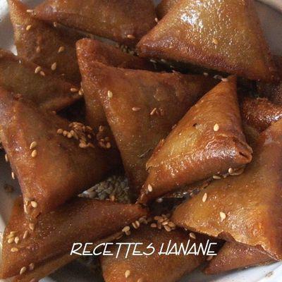 Briouates du ramadan aux amandes et au miel