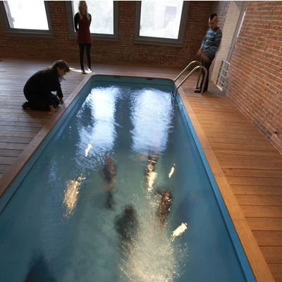 Leandro Erlich – Swimming Pool - P.S.1 MOMA