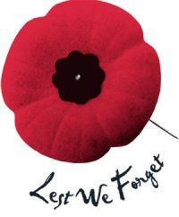 REMEMBRANCE DAY or POPPY DAY