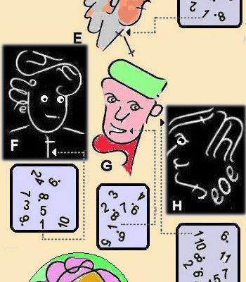....life and faces (cartoon puzzle) tlke