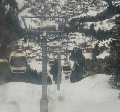 Premières séances sur les skis