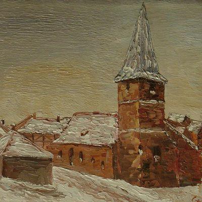 paysage hivernal N°24 (huile)
