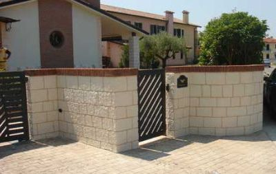 vari muri di recinto