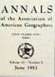 12 23 sep 14; Elaboración de una Teoría en Geografía. La Objetividad del Espacio, aún en la Crítica de Fred K. Schaefer a Hettner. (12/)