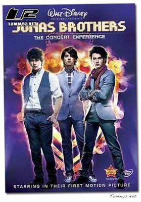 The DVD 3D concert Experience released in stores to USA!