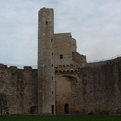 La tour maîtresse et sa tour de guet