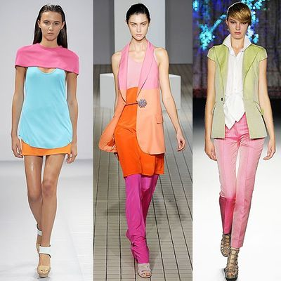 Color blocking on the city