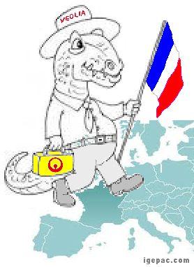 L'Europe & Nos distributeurs d'eau privés