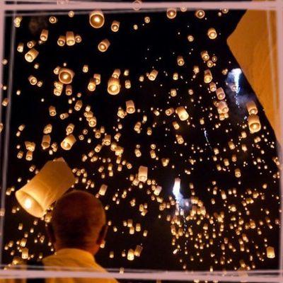 002 - Un Lacher de Lanternes ... un moment féérique !