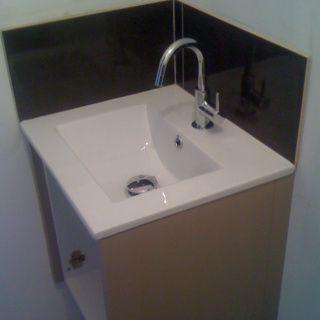 Lave mains toilette