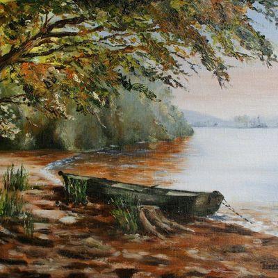 Barque sur le lac