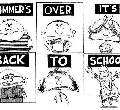 Back to school ....